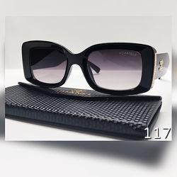 Стильні окуляри із широкими баклажановими дужками