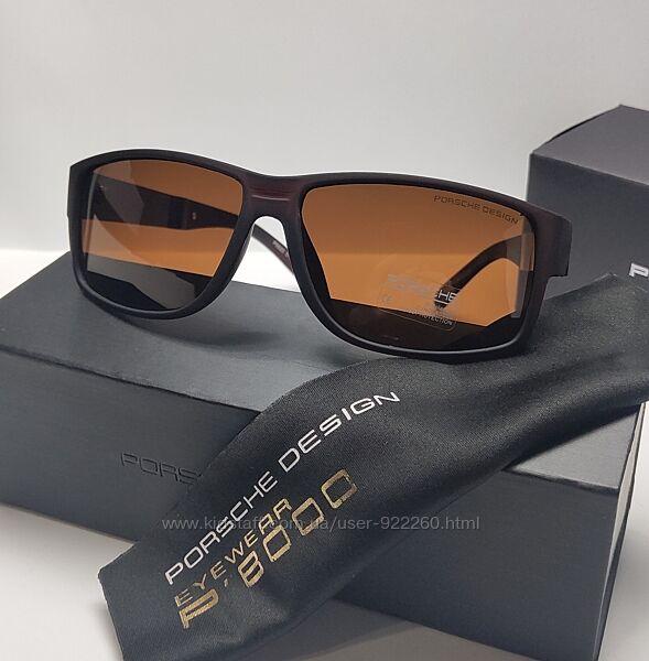 Чоловічі окуляри поляризаційна лінза в комплекті із футляром