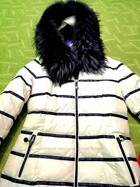 Куртка зима курточка натуральный пуховик