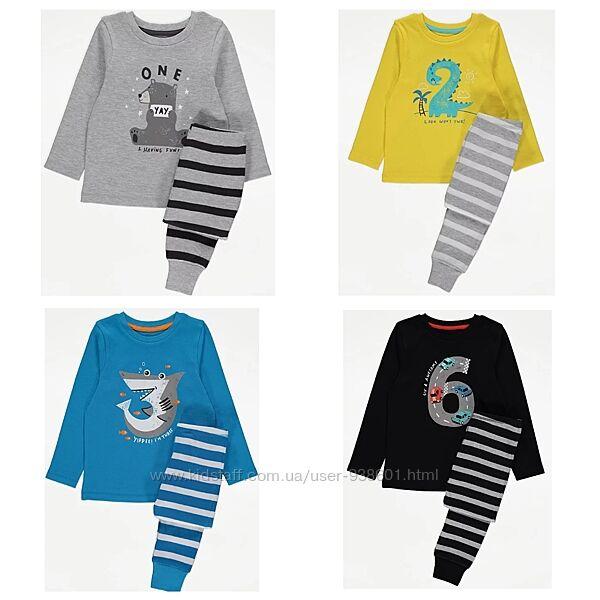 Пижамки George на 1, 2, 3 и 6 лет