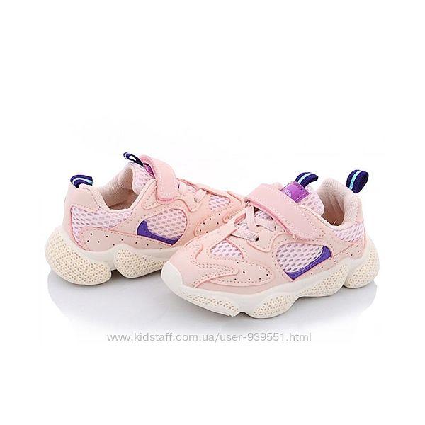Мягкие дышащие кроссовки для девочки 21-25 спортивная обувь мокасины кеды