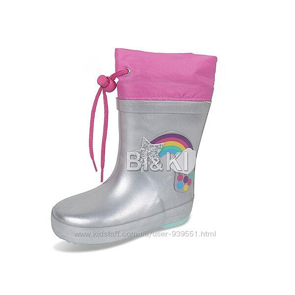 Резиновые сапожки для мальчика для девочки 21-30 Tom. m BiKi