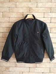 Демисезонная куртка, бомбер H&M, темно-синий в размерах