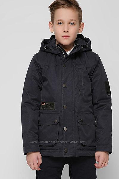Куртка, парка для мальчика, 36, 38 р. синий