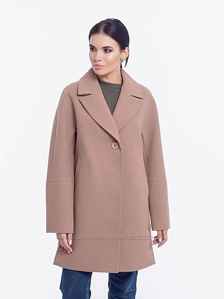 Пальто демисезонное р. 48-56 шерстяное Emis