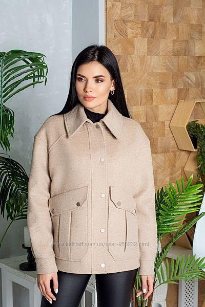 Пальто-рубашка Emis р 42-52 расцветки