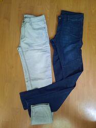 Фирменные легкие джинсы-узкачи