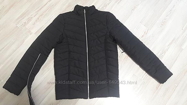 Стеганая черная куртка Esmara 36