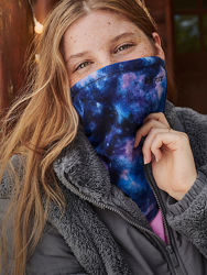 Маска шарф для лица многоразовая Victorias secret PINK