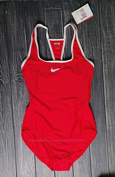 Красный спортивный купальник от nike оригинал