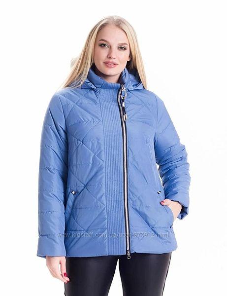 Весенняя короткая удобная куртка