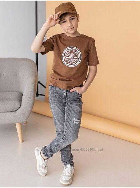 Детская футболка с принтом 134-152р