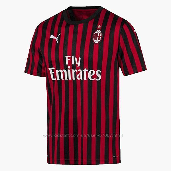 Футболка PUMA AC MILAN 2019-2020 75585701. Оригинал.
