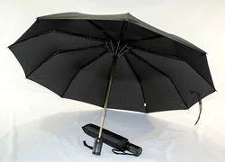 Calm rain мужской складной зонт полуавтомат антиветер