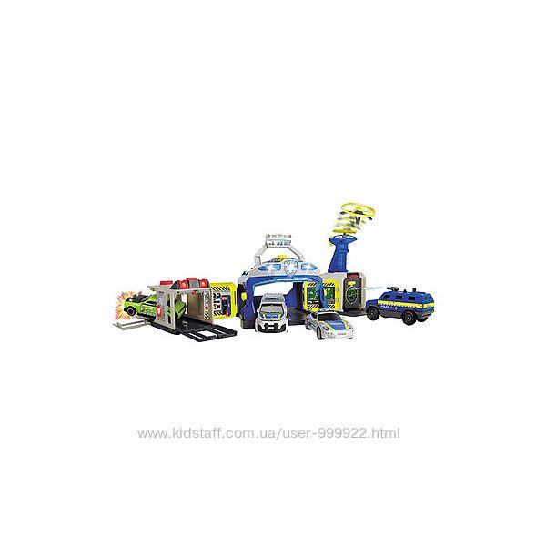 Игровой набор Dickie Toys, Полицейское управление  машинки 3719011