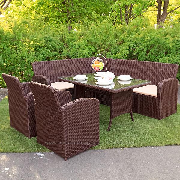 Садовая мебель из искусственного ротанга. Гарантия 3 года
