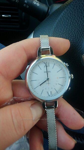 Продам часи Fossil Hybrid Smartwatch Annette Stainless Steel