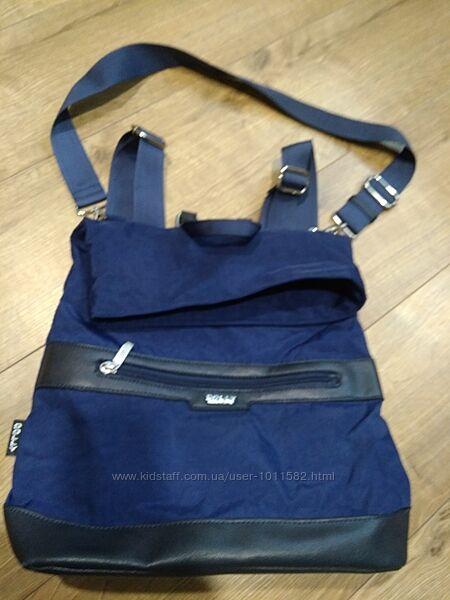 Продам сумку-рюкзак Dolly БУ