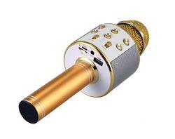 Микрофон караоке беспроводной с колонкой Bluetooth
