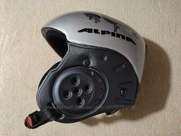 Шлем Alpina р.48-52 серый