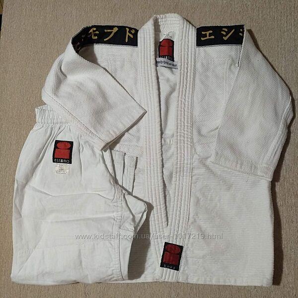 Форма для борьбы дзюдо карате на рост 120