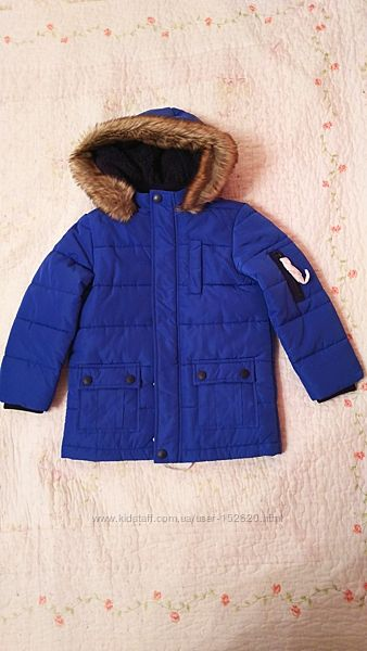Новая куртка парка Mothercare для мальчика 2-3 года