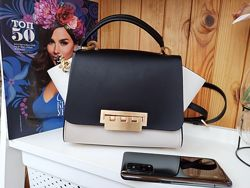 Новая роскошная кожаная сумка Zac Zac Posen. Оригинал