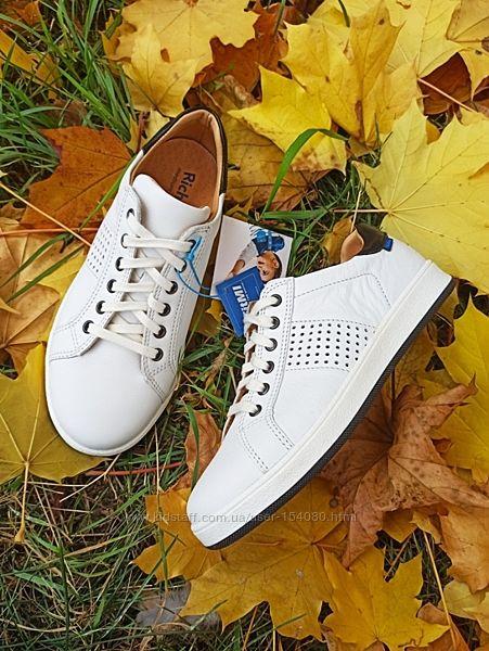 Новые белые кожаные кроссовки Richter. разм.32-35