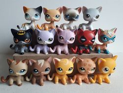lps, littlest pet shop Hasbro, петшопы кошки стоячки