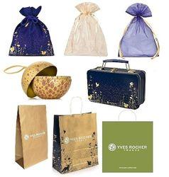 Упаковочный Подарочный Мешочек из Органзы, Пакет, Коробка Ив Роше