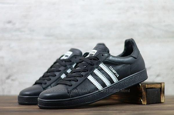 Кожаные кеды Adidas