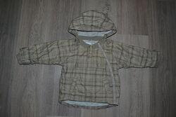 Ветровка на хлопковой подкладке ф. H&M р. 12-18 мес в отличном состоянии