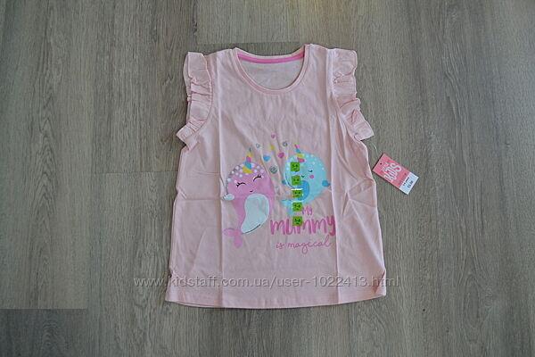 Новая футболка ф. Matalan р. 5-6 лет с биркой