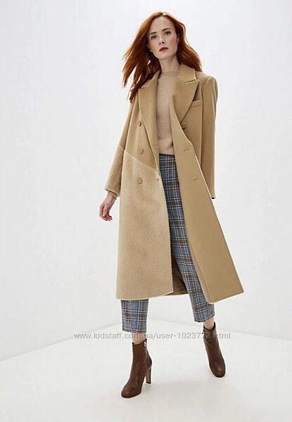Пальто intrend Max&co-max mara 44 р. , м. шерсть, альпака