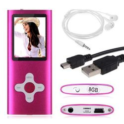 Mp3 player плеер 8Gb памяти под Apple Nano розовый