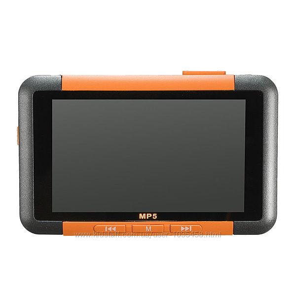 Mp5 player плеер 8Gb памяти  слот для карты памяти Micro SD оранжевый