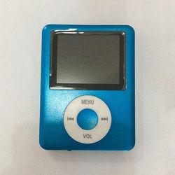 Mp4 player плеер на карту памяти Micro SD под Apple iPod синий