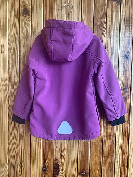 H&M софтшел стильная курточка 3-4 года