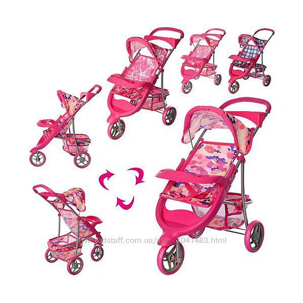 Детская прогулочная коляска для кукол 9614 Melogo.