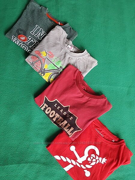 Детские футболки на мальчика 6-7 лет