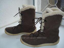 Зимние сапожки Clarks.   36-37