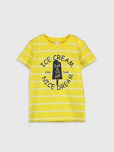 Яркая футболка на малыша с 2 -5ти