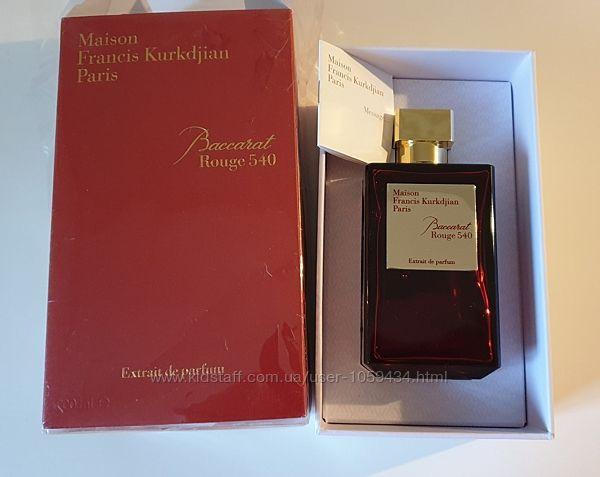 M. F. Kurkdjian Baccarat rouge 540 Extrait. Оригинал . Распив