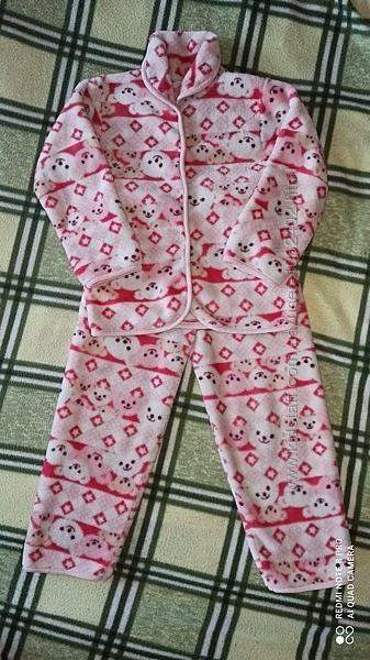 Теплая пижама для девочки
