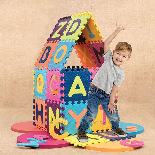 Детский Развивающий Коврик - Пазл - Abc Battat Alphabet Tiles BX1210Z