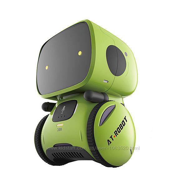 Робот с голосовым управлением  AT-Rоbot зелён. , укр. AT001-02-UKR