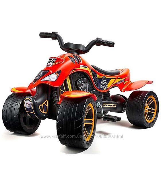 Квадроцикл на педалях DAKAR FALK 606D цвет оранжевый