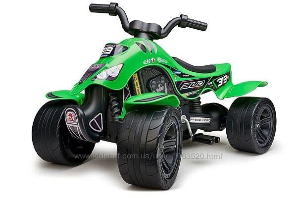 Квадроцикл на педалях FALK 609BR Quad Bud Racing цвет зеленый
