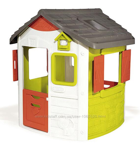 Игровой домик лесника  Нео со ставнями Smoby 124 x117x132 см, 2 810500