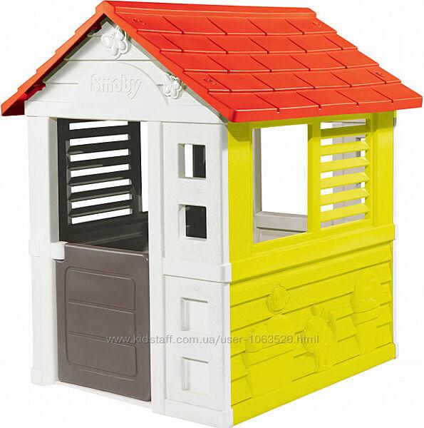Игровой Домик Smoby Toys Солнечный, размер 110 х 98 х 127 см, 2  810705